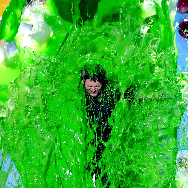 KCA17 Guess the superslimed celeb BlakeSheldon