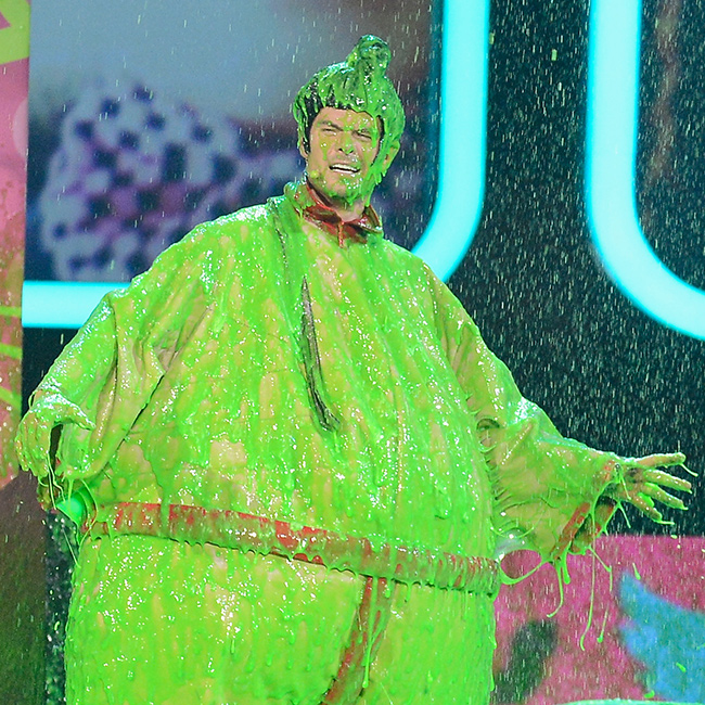 KCA17 Guess the superslimed celeb JoshDuhamel
