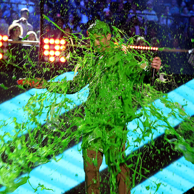KCA17 Guess the superslimed celeb NickJonas