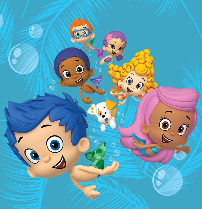 bubbleGuppies solarSystem inside