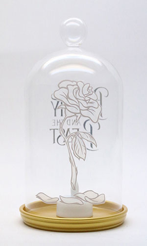 BATB Candle Holder Rose