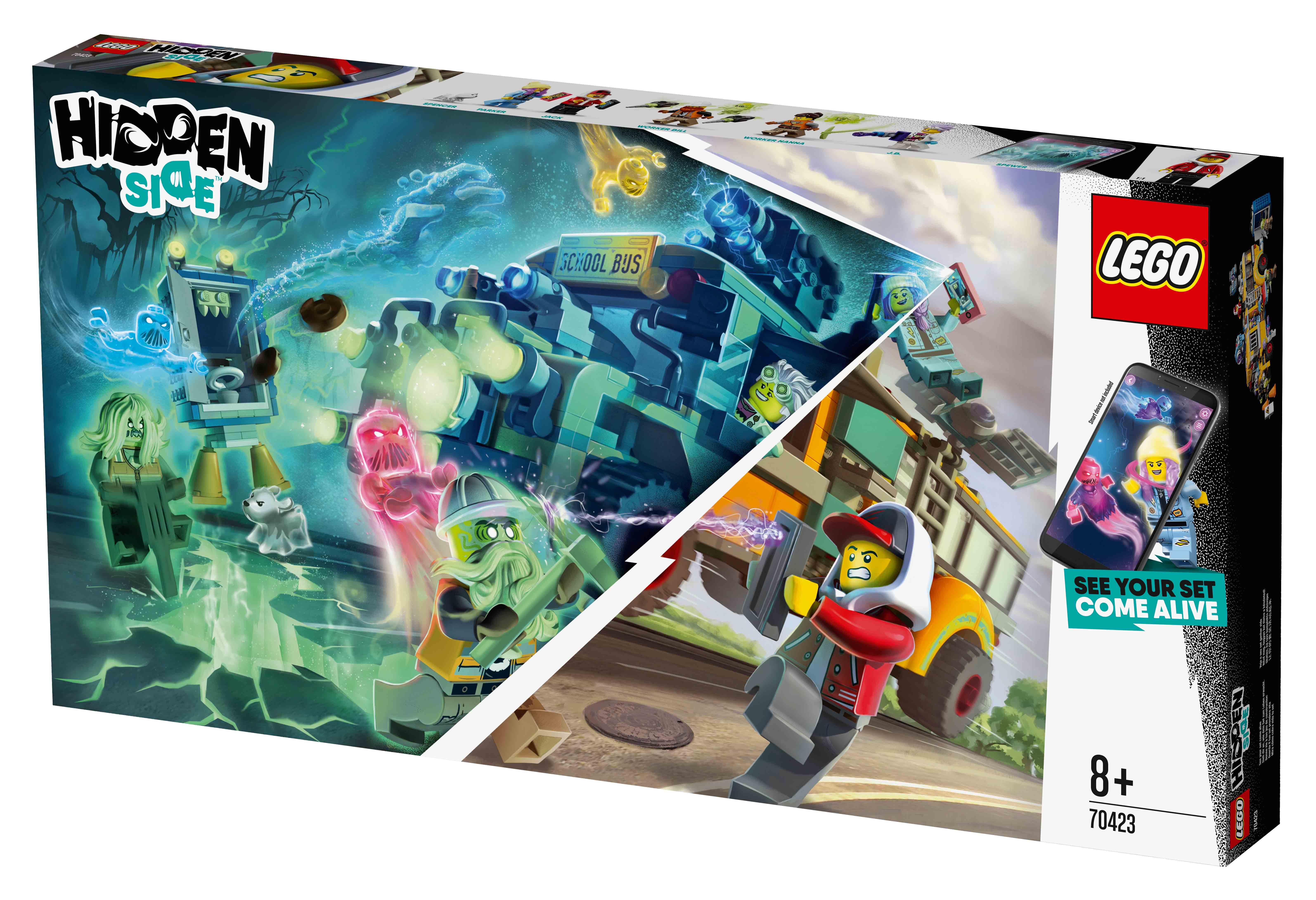 Διαγωνισμός lego® hidden side™ Λεωφορείο Αναχαίτισης