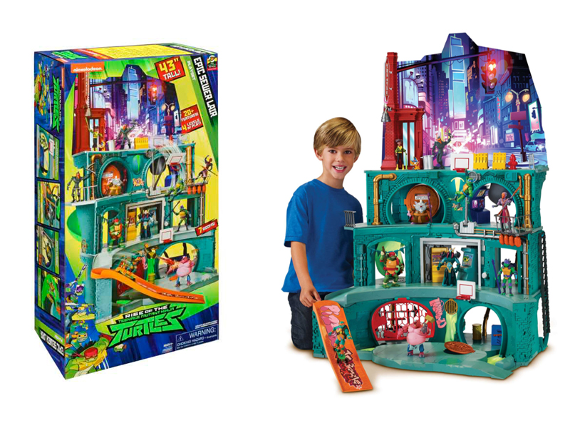 tmnt Lair Playset best