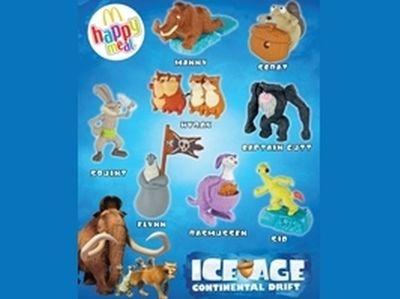 Οι ήρωες του Ice Age 4 έρχονται στα McDonald's!
