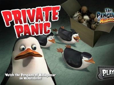 Οι Πιγκουίνοι της Μαδαγασκάρης - Private Panic