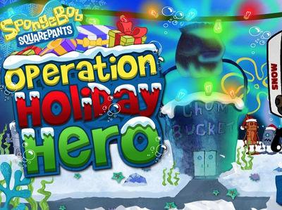 Μπομπ Σφουγγαράκης - Operation Holiday Hero