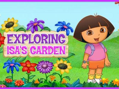 Ντόρα η Μικρή Εξερευνήτρια - Εξερεύνηση στον κήπο