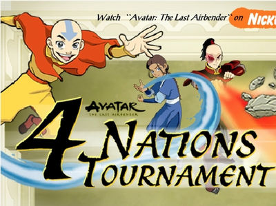 Avatar - Το τουρνουά των 4 Εθνών