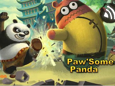 Kung Fu Panda - Paw Some Panda