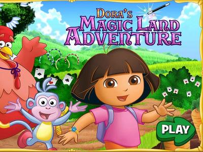 Ντόρα η Μικρή Εξερευνήτρια - Περιπέτεια στην Magic Land!