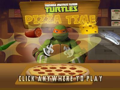 Teenage Mutant Ninja Turtles - Pizza Time