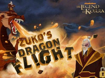 Ο Θρύλος Της Κόρρα - Zuko's Dragon Flight