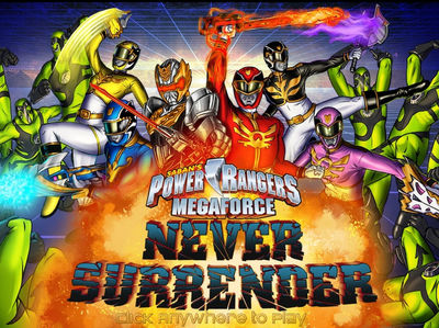 Power Rangers Megaforce - Never Surrender