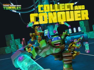 Teenage Mutant Ninja Turtles - Collect And Conquer