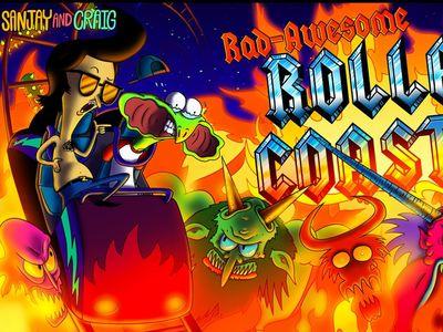 Σάντζε και Κρεγκ - Rad Awesome Roller Coaster