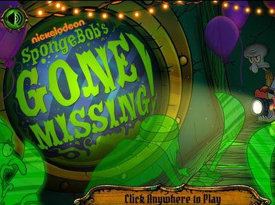 Μπομπ Σφουγγαράκης - SpongeBob Gone Missing