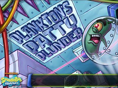 Μπομπ Σφουγγαράκης - Plankton's Patty Plunder