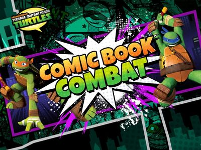 Teenage Mutant Ninja Turtles - Comic Book Combat