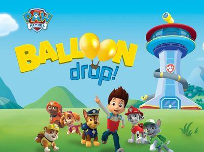 Paw Patrol - Balloon Drop