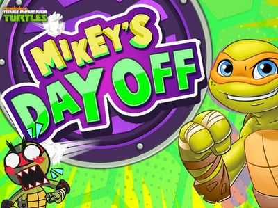 Teenage Mutant Ninja Turtles - Mikey's Day Off
