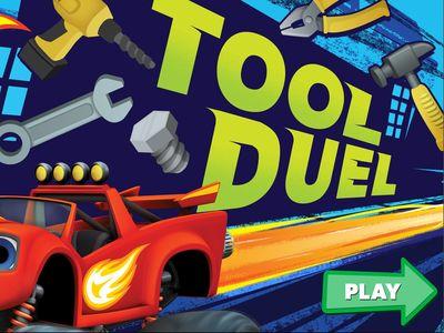 Ο Μπλεϊζ και οι Φίλοι του - Tool Duel