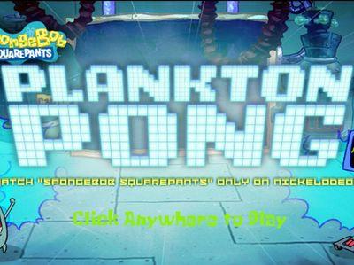 Μπομπ Σφουγγαράκης - Plankton Pong