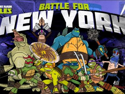 Teenage Mutant Ninja Turtles - Battle For New York