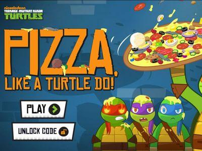 Teenage Mutant Ninja Turtles - Pizza Like A Turtle Do