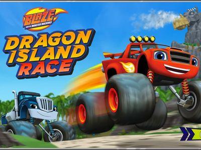 Ο Μπλεϊζ και οι Φίλοι του - Dragon Island Race