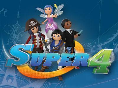 Έρχονται οι Super 4 στο νέο Playmobil Fun Park