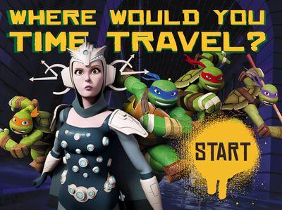 Teenage Mutant Ninja Turtles - Time Travel Quiz