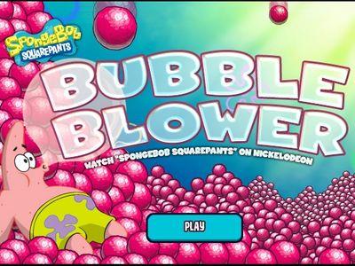 Μπομπ Σφουγγαράκης - Bubble Blower