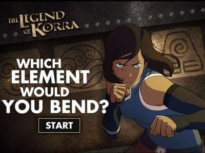 Ο Θρύλος Της Κόρρα - Which Element Would You Bend