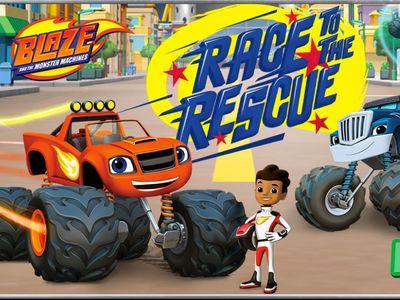 Ο Μπλεϊζ και οι Φίλοι του - Race To The Rescue