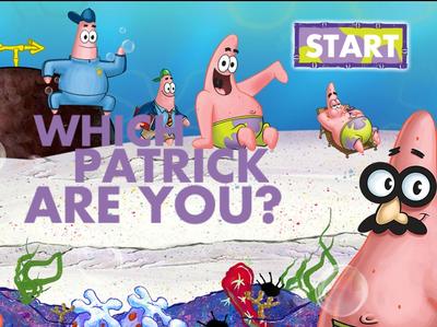 Μπομπ Σφουγγαράκης - Which Patrick Are You?