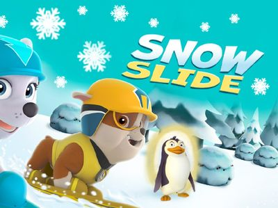 Paw Patrol - Snow Slide