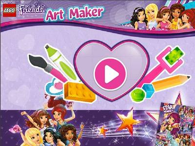 LEGO FRIENDS - ART MAKER