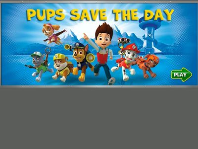 Paw Patrol - Save The Day