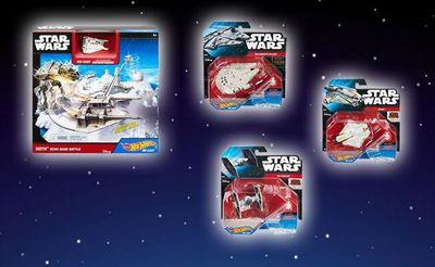 Κέρδισε συλλεκτικά δώρα Star Wars