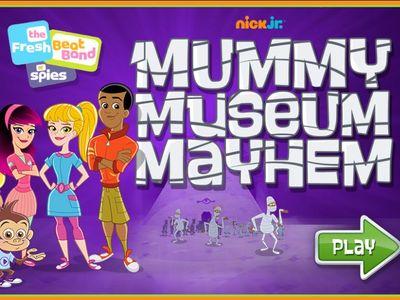 Μουσική Ομάδα Κατασκόπων - Mummy Museum