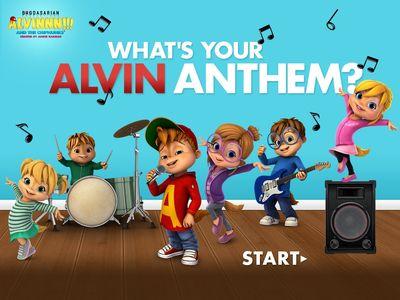 Ο ΑΛΒΙΝΝΝ!!! και η παρέα του - What's your Alvin Anthem?
