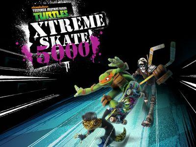 Teenage Mutant Ninja Turtles - Χtreme Skate 5000