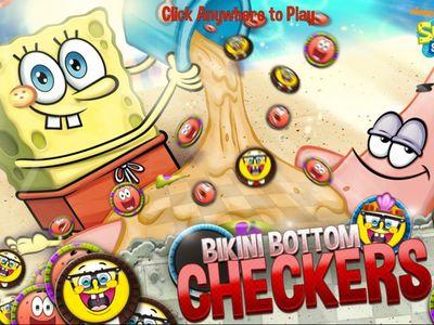Μπομπ Σφουγγαράκης - Bikini Bottom Checkers