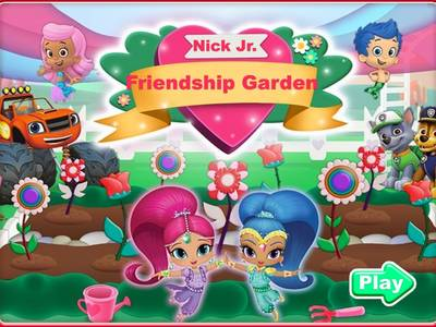 Nick Jr - Friendship Garden