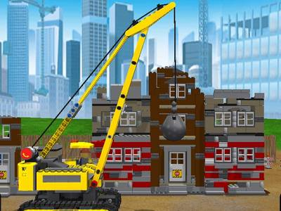 LEGO CITY - MY CITY DEMOLITION
