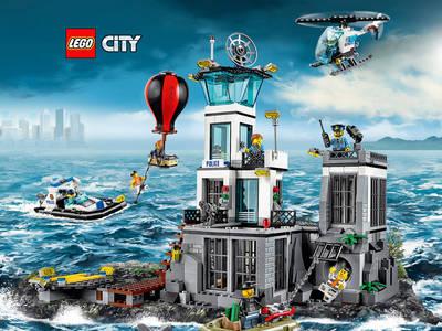 """Μεγάλος διαγωνισμός LEGO - Κέρδισε το """"Το Νησί της Φυλακής"""""""