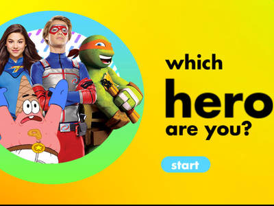 Nick Quiz - Ποιος ήρωας του Nickelodeon είσαι;
