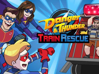 Χένρι Ο Επικίνδυνος - Danger and Thunder Train Rescue