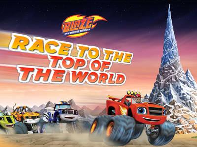 Ο Μπλέιζ και οι Φίλοι του - Race To The Top Of The World