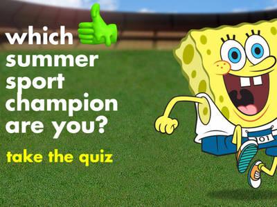 Nickelodeon: Summer Sports Champion Quiz